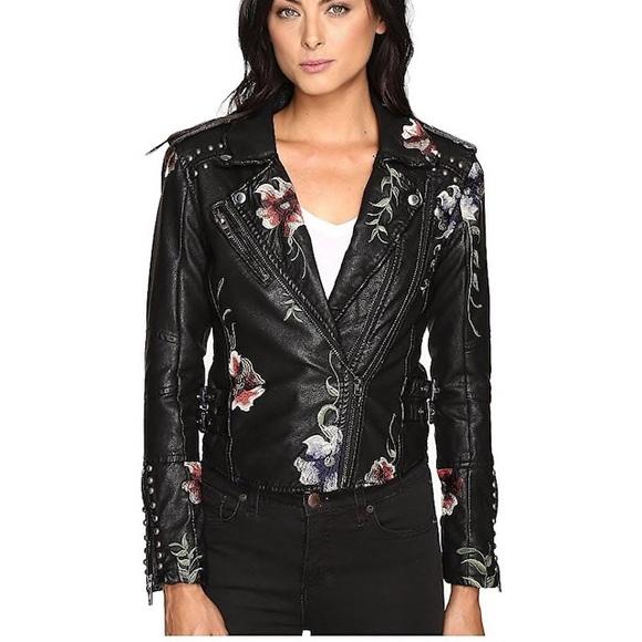 Blank NYC Jackets & Blazers - BlankNYC As You Wish faux leather moto jacket